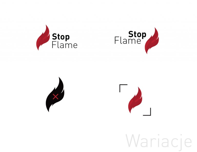 flame stop logotyp