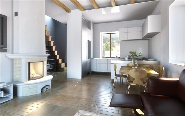wizualizacje 3d - apartamenty i wnętrza